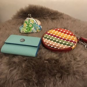 Accessories - 3 new coin and card holders great Brands!